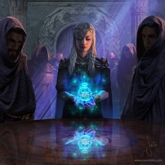 A place to share and appreciate fantasy and sci-fi art featuring reasonably portrayed women. Fantasy Story, High Fantasy, Fantasy World, Dnd Characters, Fantasy Characters, Female Characters, Character Portraits, Character Art, Fantasy Artwork