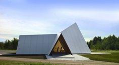 Finland's Beautiful Lilja Chapel is a Pop-Up Prefab Church Lilja chapel, by UPM in Oulu – Inhabitat - Green Design, Innovation, Architecture, Green Building