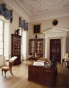 The Library at Kedleston Hall