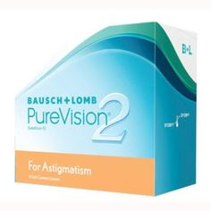 I'm learning all about Purevision 2 For Astigmatism Contact Lenses at @Influenster!
