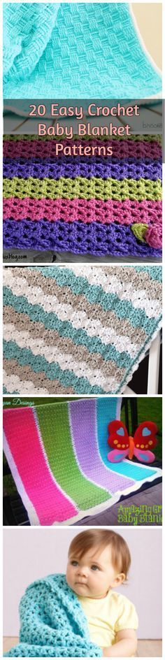 Looking for an easy baby blanket pattern