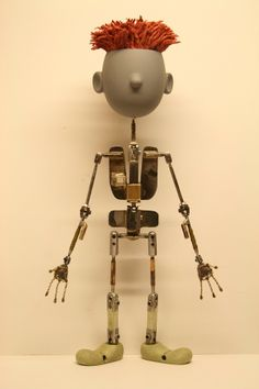 Calamity Island Puppet Armature by Benjamin Weller