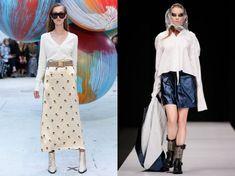 white long sleeved Blouse Patterns, Clothing Patterns, Blouse Designs, Christopher Kane, Emilio Pucci, Phillip Lim, Elie Saab, Kenzo, Victoria Beckham