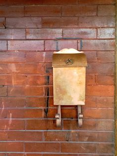 Copper Mailbox - Front Porch Updates: via Midtown Modern KC