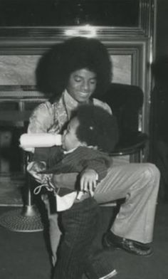 He always loved babies and all children of the world ღ