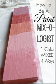 Mix CeCe Caldwell's New paint color 4 different ways to persoNalize your perfect hue!