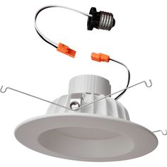 Maxsa Innovations - Retrofit LED Downlight - Warm White, 80101