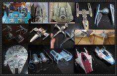 Star Wars - Starship Paper Models Free Templates Download