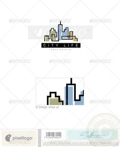 Home & Office Logo - 600 by pixellogo An excellent logo template highly suitable for construction and real estate businesses. Fully layered logo template. All colors a