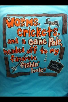 Fishing shirt!
