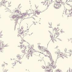 Arthouse Chinoise Wallpaper - Plum
