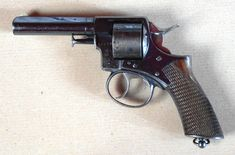 Webley's first popular success came with its first double-action revolver, adopted by the Royal Irish Constabulary in 1867.