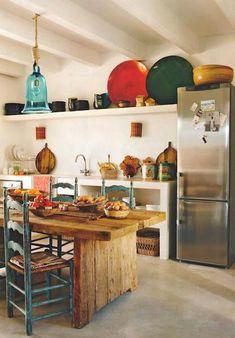 La especial casa de Eugenia Silva, estilo bohemio en estado puro