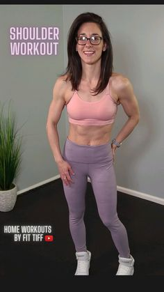 Fitness Workout For Women, Fitness Goals, Fitness Tips, Arm Toning Exercises, Remove Belly Fat, Back Fat Workout, Dumbbell Workout, Shoulder Workout, Workout Videos