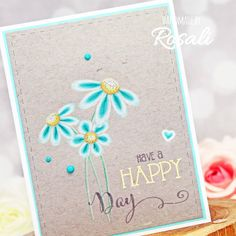 Honey Bee Stamps, Have A Happy Day, D Gray, Busy Bee, Colored Pencils, I Card, Bees, Coloring, Paper
