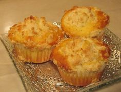 Lemon Poppy Seed Muffin  These lemon poppy seed muffins have a soft crumb topping baked onto them. Fresh lemon juice and zest make the taste stand out above others.