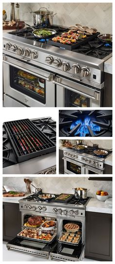 For the Foodie in your life! The Platinum Series offers unsurpassed power and pe. For the Foodie in your life! The Platinum Series offers unsurpassed power and performance for discerning home chefs who demand restaurant-quality results. Kitchen Stove, Kitchen And Bath, New Kitchen, Kitchen Decor, Kitchen Appliances, Kitchen Ideas, Kitchen Cabinets, Kitchen Cooker, Life Kitchen