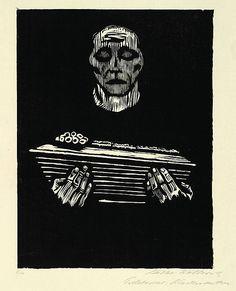 Käthe Kollwitz - Kindersterben, 1925