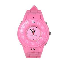 New Generation Kids Wrist Watch Phone with Real GPS Tracker /Children Safe Security/ SOS Surveillance/audio Remote Monitor for Girl (Pink color)