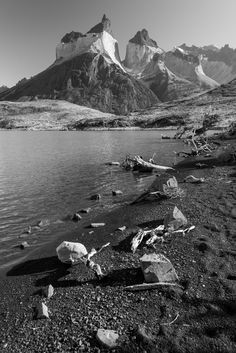 View of the Cuernos, Lake Nordenskjöld. Torres Del Paine National Park. 20/20 Prints available