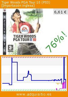 Tiger Woods PGA Tour 10 (PS3) [Importación inglesa] (Videojuegos). Baja 76%! Precio actual 6,61 €, el precio anterior fue de 27,41 €. http://www.adquisitio.es/import/tiger-woods-pga-tour-10