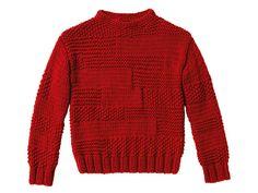 Strickmuster: Pullover im Mustermix stricken - eine Anleitung - BRIGITTE