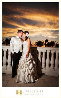 Limelight Photography, www.stepintothelimelight.com, Hyatt Regency Clearwater Beach, Wedding Photography, Bride and Groom, Sunset,