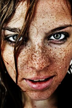 .I am not sure where I get such a love of freckles but enjoy them just the same.