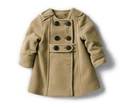 zara baby camel coat