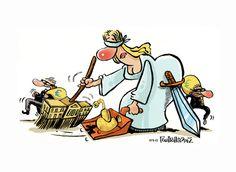 editorial cartoon Realnews150913