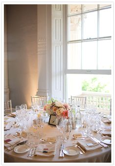 Elegant London Wedding Reception