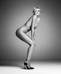 Sharon Stone Goes Nude In Harper's BAZAAR September 2015 - Sharon Stone Talks Agent X and Her Brain Hemorrhage