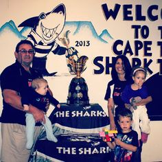 With the Currie Cup at the Sharks Supporters Club in Cape Town Sharks, Cape Town, Rugby, Club, Movies, Movie Posters, 2016 Movies, Shark, Film Poster