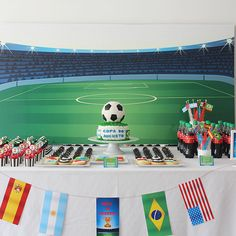 World Cup Party www.mypaperfactory.com