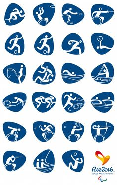 rio 2016 olympics pictograms by dalton maag