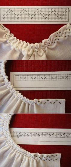 Smocking Patterns, Dress Sewing Patterns, Clothing Patterns, Fashion Sewing, Diy Fashion, Sewing Clothes, Diy Clothes, Designs For Dresses, Sewing Stitches