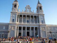 Jornada Mundial de la Juventud. Madrid Spain 2011 Catedral de la Almudena