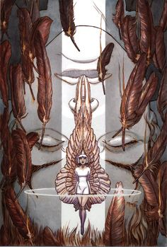Lucifer cover by Michael Wm. Vertigo Comics, Cute Goth, Michael Williams, Comic Art Community, Goth Art, Film Music Books, Art Studies, Comic Artist, Screen Printing