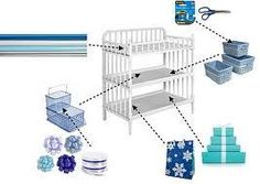 From Stubborn's Place on FB.  Use a changing table as a wrapping table, or organizing supplies!  Love this!