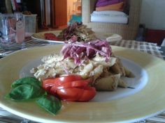 Italian Chicory's Pesto with Almonds and Modena Balsamic Vinegar