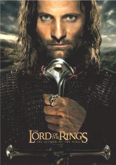 Póster El Señor de los Anillos. El Retorno del Rey