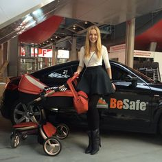 """Dominika said, """"I have one of the first Sicilian Red xari with Rose Gold chassis in Poland. Wonderful pushchair!"""" :)"""