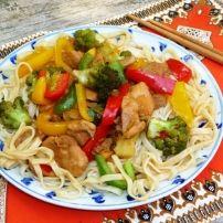 Broccoli, Pasta, Meat, Food, Indian, Meal, Eten, Meals, Noodles