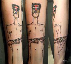 Tattoo by ROBEREL Paris, France dragontattoo.fr Roberel Tatouage Facebook Email: l.tzigane@gmail.com Artwork by Egon Schiele