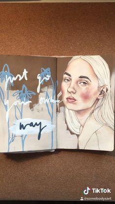 Gcse Art Sketchbook, Drawing Journal, Art Journal Pages, Kunstjournal Inspiration, Sketchbook Inspiration, Art Drawings Sketches, Horse Drawings, Drawing Art, Art Diary