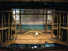 The set for Pirates of Penzance Stratford 2012 Designed by Anna Louizos