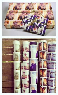 This wrapping paper season wrap your gifts with a little extra love.  The good folks at PicPaperie print your very best Instagrams onto wrapping paper!