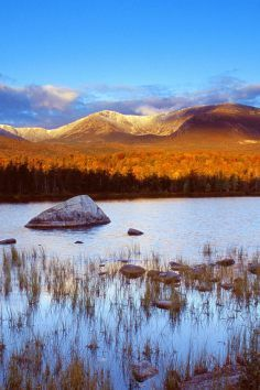 Baxter State Park in Millinocket Maine has a multitude of camping opportunities.