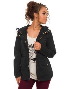 Stylish Women Casual Zipper Buttons Pockets Hooded Long Sleeve Hoodies Coat Jacket