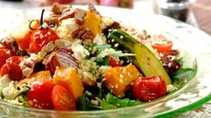 COUSCOUS SALAD WITH ROASTED VEGETABLES - Spice up tired dinner recipes with this creative Couscous Salad. Although it is easy to make, its incredible flavours are sure to impress.